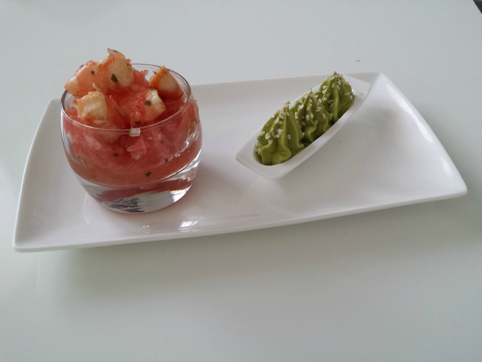 Avocat-crevettes version 2015