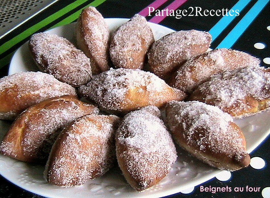 beignets de mardi gras sans friteuse partage 2 recettes