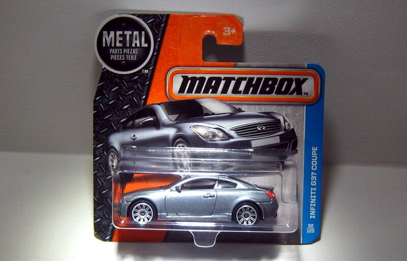 Infinity G37 coupe (Matchbox 2017)