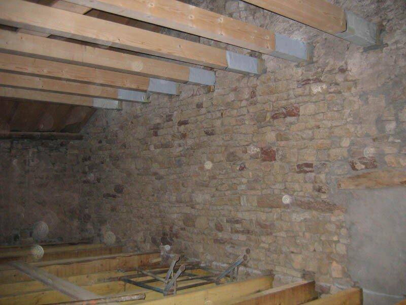 construction du 1er tage gros oeuvre 1 re partie la grotte maline gus et zaza. Black Bedroom Furniture Sets. Home Design Ideas