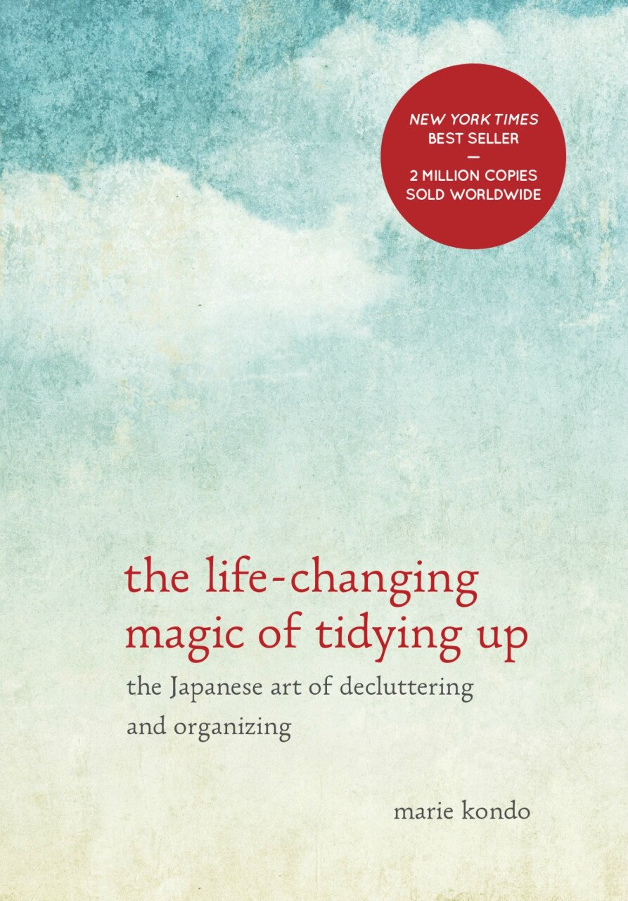"J'ai lu : ""Marie Kondo, The Life-Changing Magic of Tidying Up"""