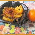 Salade d' oranges à la grecque et voyage à mystra