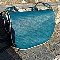 Un sac bleu made home (parce que ce j'en avais pas !!!!! lol)