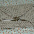 Pochette en coton cration Rowan