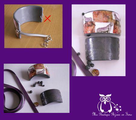Le bracelet cassé et les nouveaux éléments