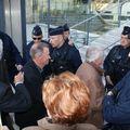 Jacky COSTES devant le TGI de Bordeaux
