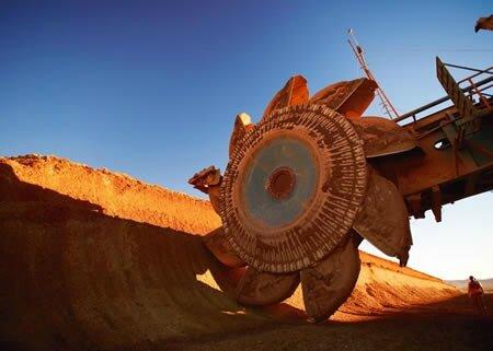 minerai de fer - cours en chute - 2015 - metaux - acier