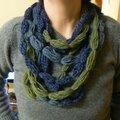 Un collier de laine