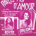 Les partitions de dalida. p.