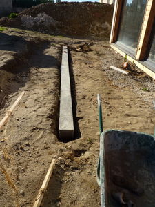 Les longrines construction maison bbc effinergie for Aide construction maison bbc