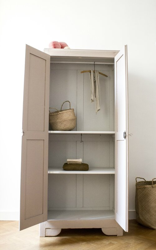 Armoire parisienne dead salmon farrow & ball TRENDY LITTLE 3