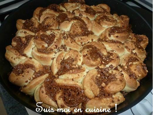 Brioche bouclette pralinée A