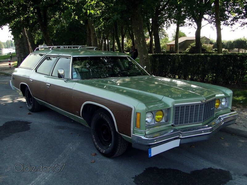 chevrolet caprice estate wagon 1974 a