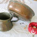 Pots à eau du Hamam