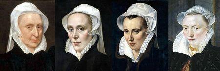 Pays-Bas 1565-1570 environ