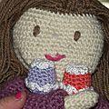 cupcake poupée au crochet coton fifty 7