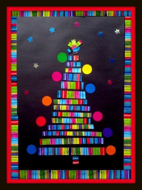 149_Noël et Nouvel An_Sapin en tranches (1C)