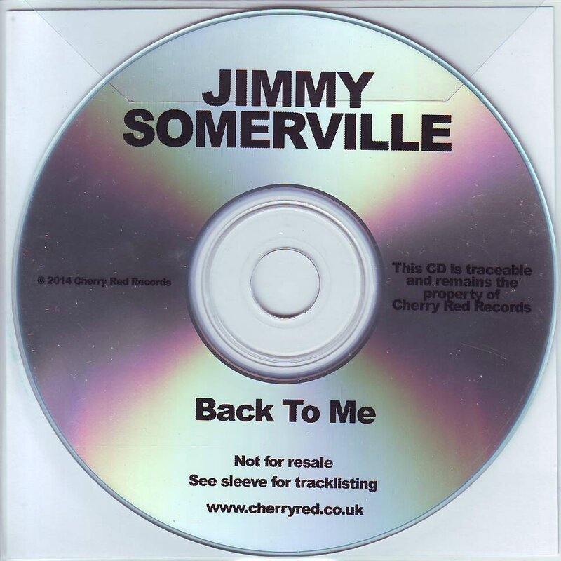 Back To Me promo disc