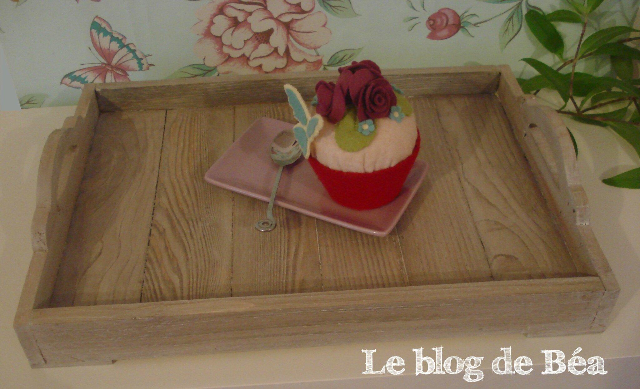 Diy fabriquer un plateau en bois de palette photo de 2 - Fabriquer des objets en bois ...