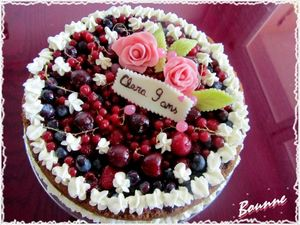 Cheesecake aux fruits rouge (3)
