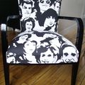 Fauteuils pop/rock face
