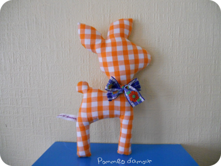 tifaon vichy orange rond