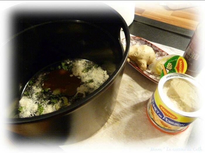 bouillon raviolis