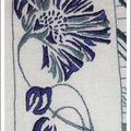 Broderie bleue n°12