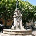 Place Astruc et sa belle fontaine