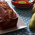 Cake fondant aux poires