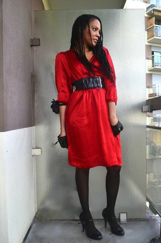 Rouge chic Sara.Ki ----