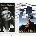 un timbre américain