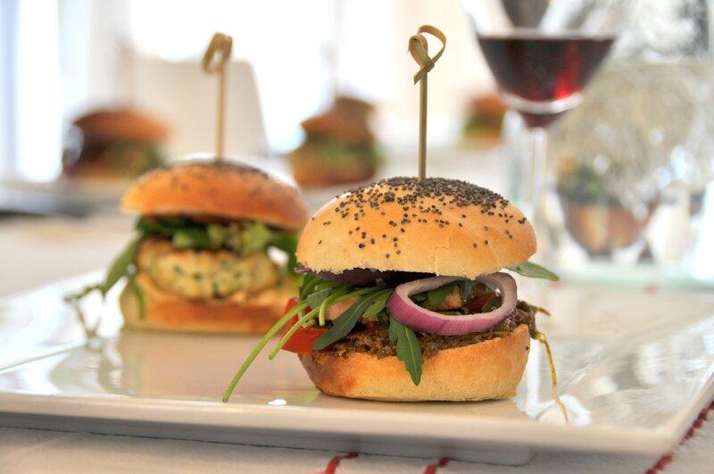 Burger de thon Atelier burger gastronomique chez Mat'carons atelier culinaire coach culinaire