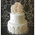 nina couto wedding cake blanc