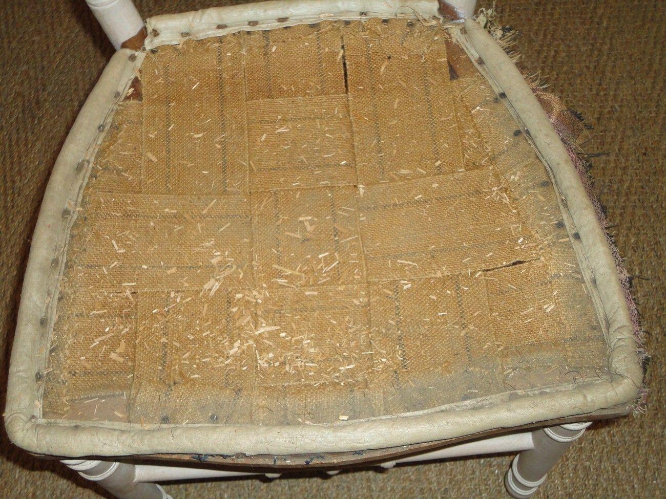 Recouvrir une chaise en paille fabulous recouvrir une - Recouvrir une chaise en paille ...