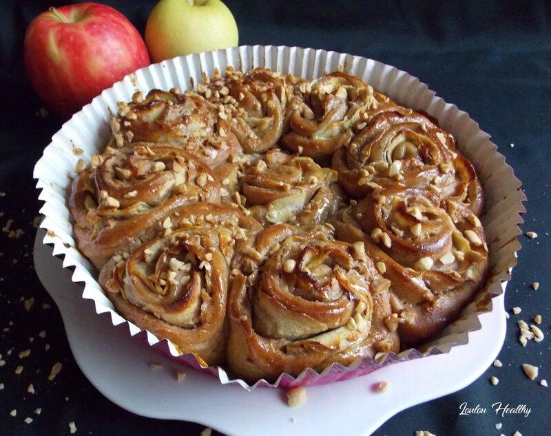chinois rose aux pommes et beurre de cacahuète6