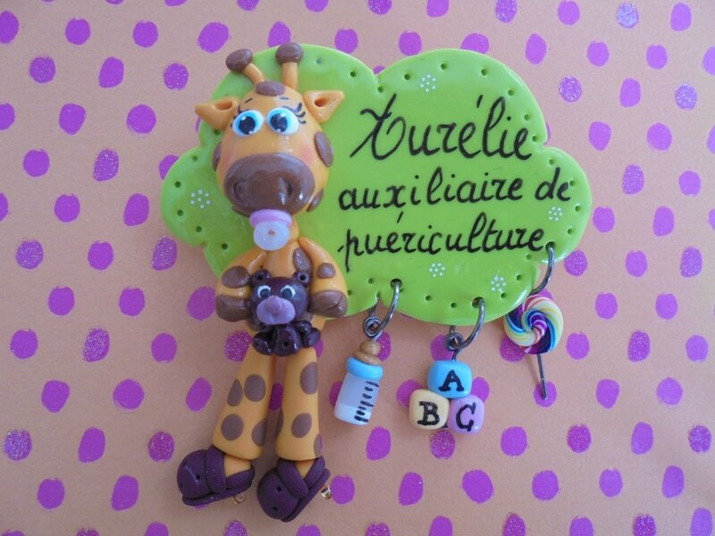 badge girafe