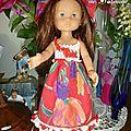 La robe crochet-couture par Solange
