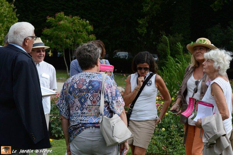 Jury Concours international de roses d'Orléans 2016