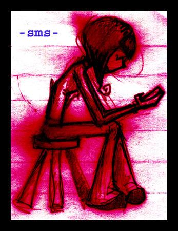 en manque de sms de toi