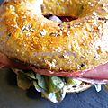 Bagel au pastrami comme à new-york