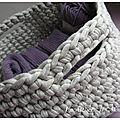 Corbeille tricot... au crochet !