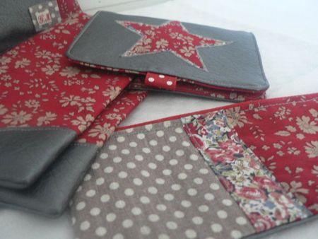 Pochette, porte-cartes, porte-monnaie et porte-chèques