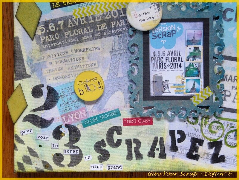 GIVE YOUR SCRAP DEFI N° 6 PHOTO 5BIS