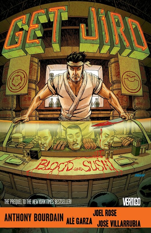 get jiro blood and sushi vol 1 HC