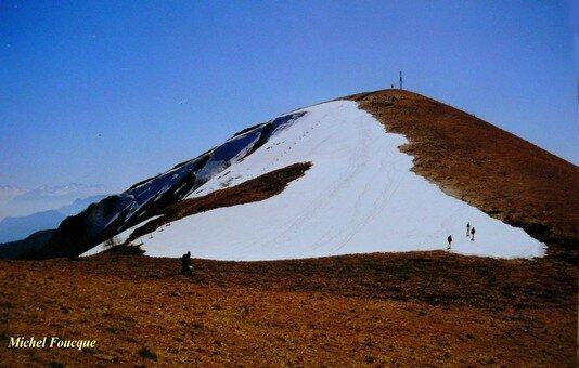 554) Rando pédestre sur le Grand Colombier (Ain)