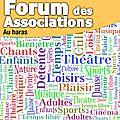Forum des associations à avranches dimanche 7 septembre 2014