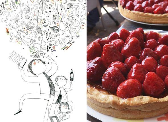 tarte aux fraises 2 Tous au restaurant LE MIAM MIAM BLOG