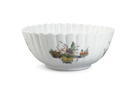A_Meissen_fluted_bowl_