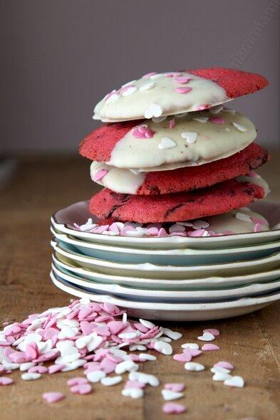 recettte red velvet cookies saint valentin 0001 LE MIAM MIAM BLOG